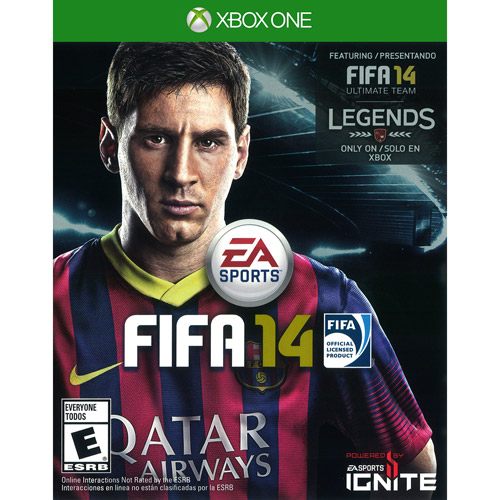 Fifa 14 Cover Xbox One FIFA Soccer 14  Xbox One